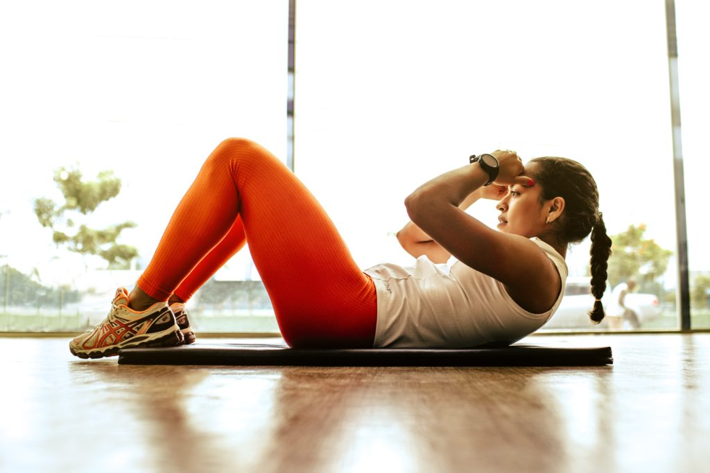 exercise to stop being lazy