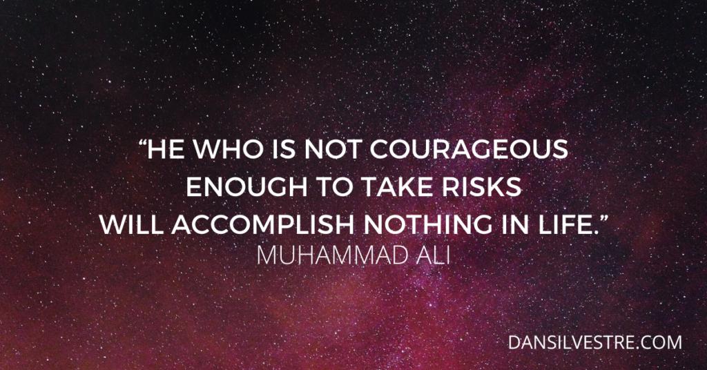 ali motivational work quote