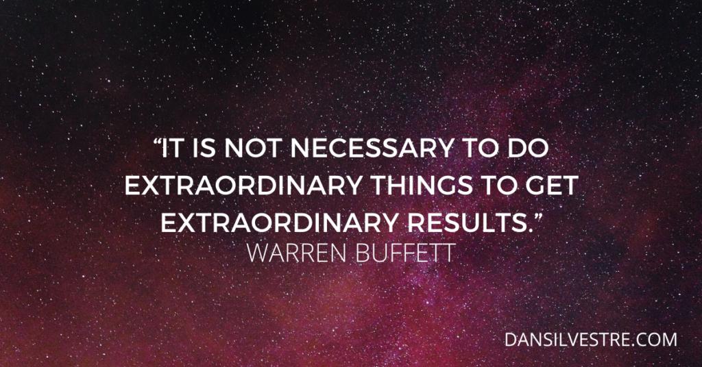 Warren Buffett inspirational quotes For productivity