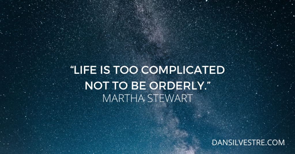 Martha Stewart personal productivity quote