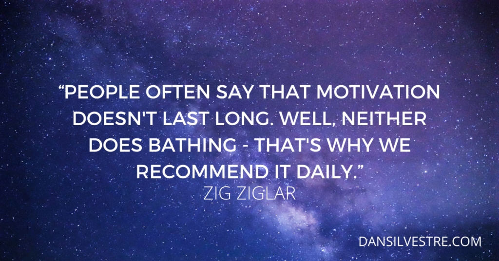 Zig Ziglar motivational quote