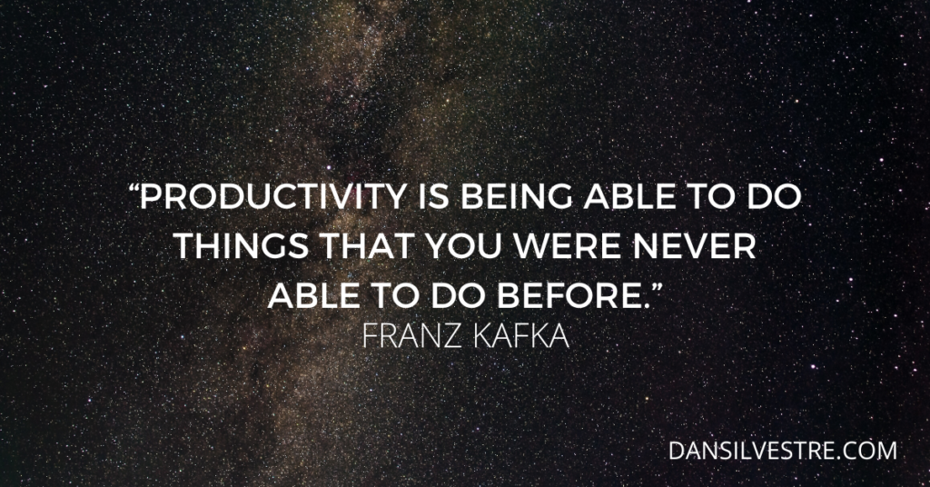 Franz Kafka inspirational quotes For productivity