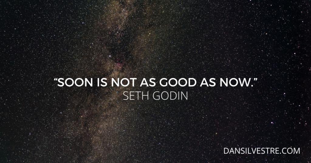seth godin motivational work quote