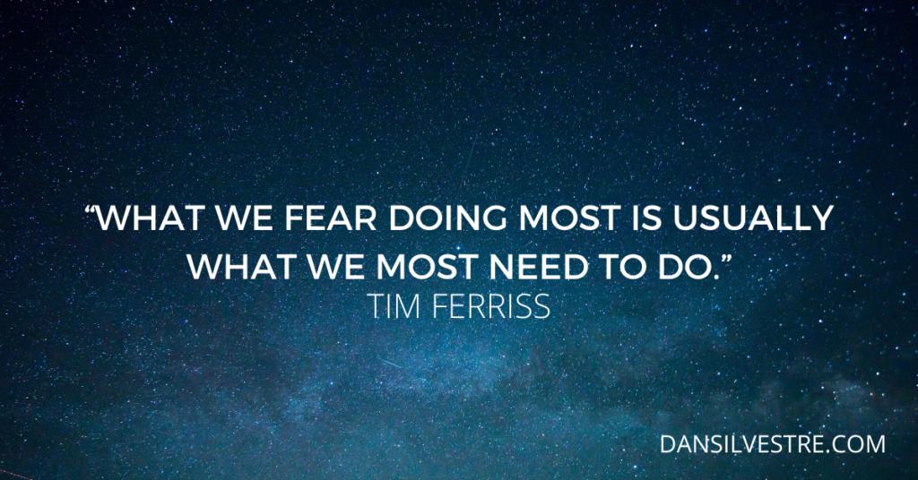 tim ferriss motivational work quote