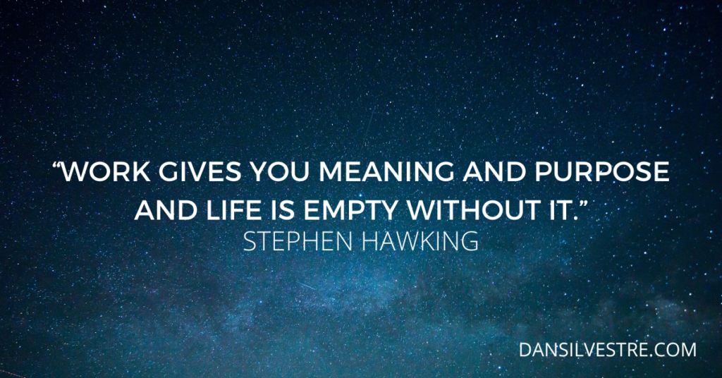 Stephen Hawking inspirational quotes For productivity