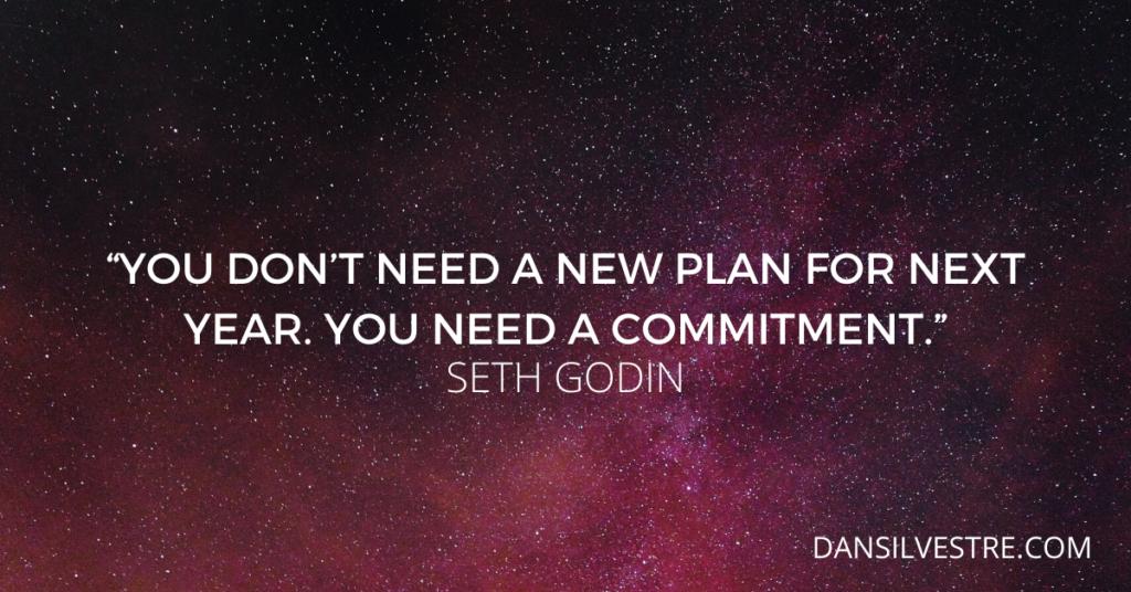 Seth Godin personal productivity quote